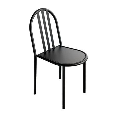 chaise mallet mallet chaise en métal noir habitat