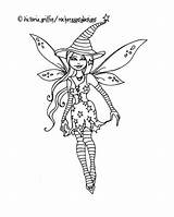 Drawing Coloring Witch Fairy Wicca Getdrawings sketch template
