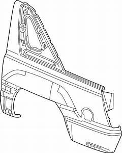 Chevrolet Avalanche 2500 Quarter Panel  Upper  Lower