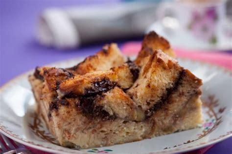 brioche cuisine az nutella banana brioche bread pudding recipe
