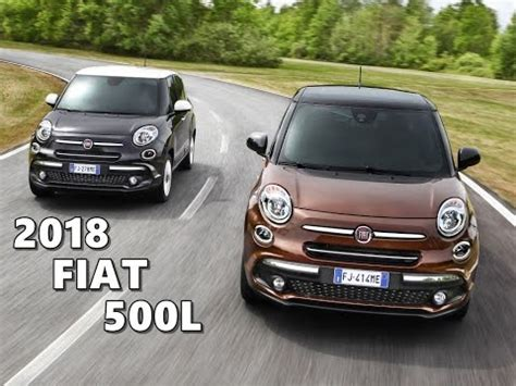 2018 Fiat 500l  Driving, Design, Interior Youtube