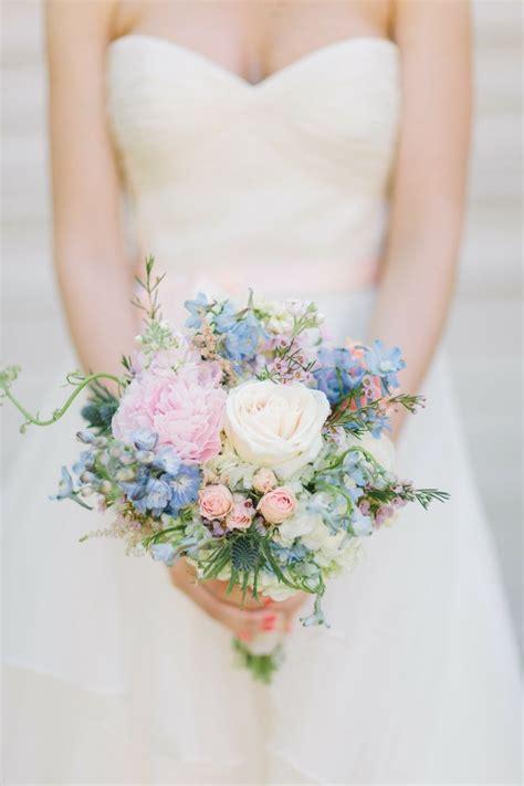 Spring Wedding Bouquetspastel Bridal Bouquet Spring