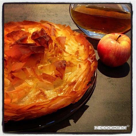 tourtiere aux pommes pate filo iz cooking croustade aux pommes simplissime merci la p 226 te filo