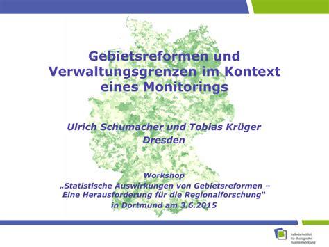 (PDF) Gebietsreformen und Verwaltungsgrenzen im Kontext ...