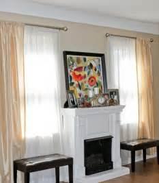 double curtain rods on pinterest pillow set