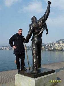BEAUTIFUL VIEW ON FREDDY MERCURY STATUE LOCATED IN ...