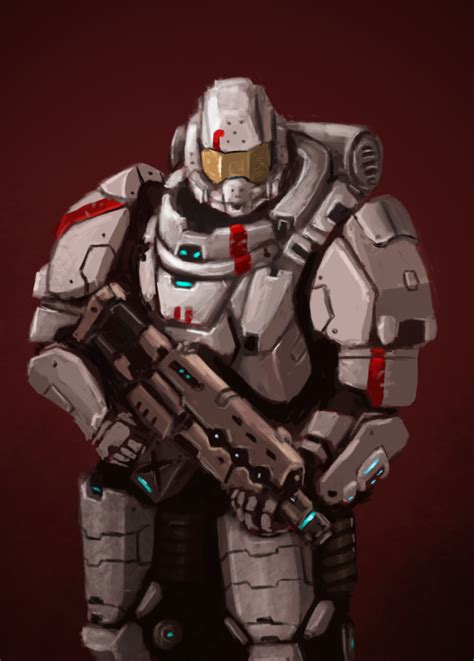 futuristic space armor by fonteart on deviantart