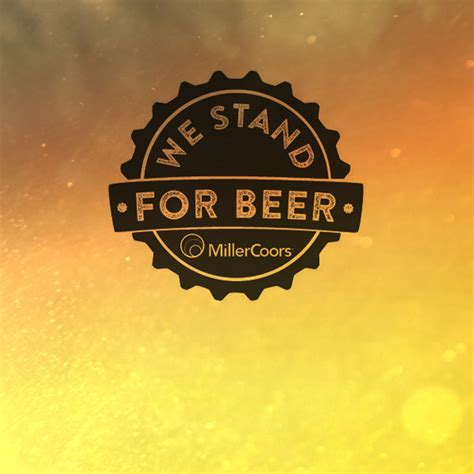 millercoors stands  beer   ad campaign
