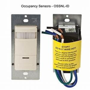 Leviton Decora Occupancy Sensor Wall Switch