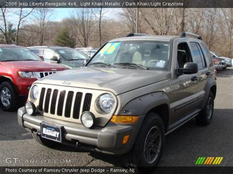 jeep renegade dark blue light khaki metallic 2006 jeep liberty renegade 4x4