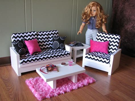 my life as desk and chair set 18 doll furniture american sized living room