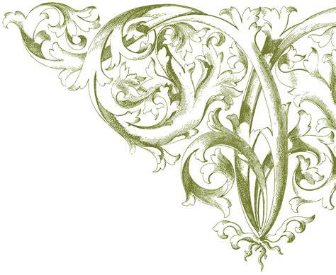 antique corner ornament images amazing  graphics fairy