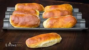 Hot Dog Brötchen : rezept hot dog br tchen hot dog bun selber machen ~ Udekor.club Haus und Dekorationen