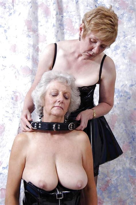 femdom bdsm fetish leather grannies mature - Pichunter