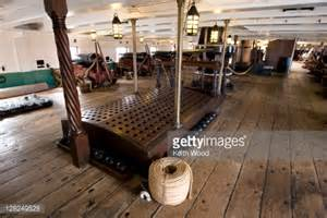 18 pounder guns on the gun deck inside the hms trincomalee 1817 the centrepiece of hartlepools