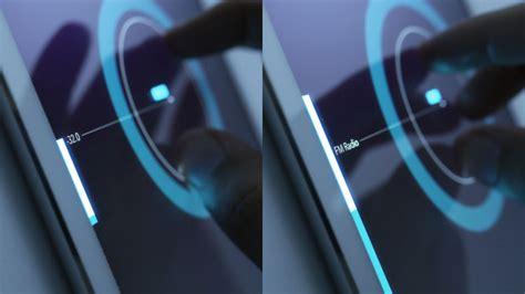 car ui tactile  intuitive interface