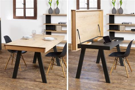 desk converts to dining table convertible celerina table for dining and working digsdigs