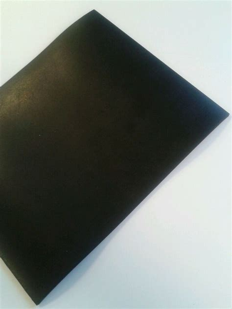 neoprene black solid rubber general purpose sheet various