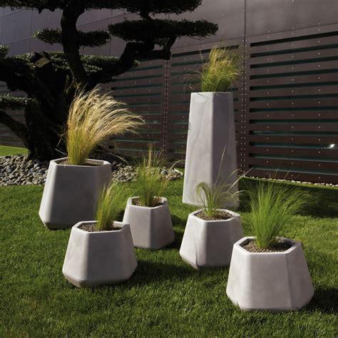 vasi da giardino moderni vaso per piante da esterno e interno ops m nicoli