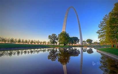 Arch Gateway Park National Louis St Missouri