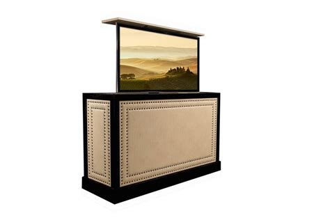 tv lift cabinets for flat screens custom designed flat screen tv lift furniture