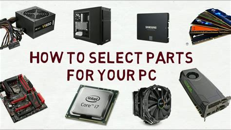 Pc Part Choosing Guide||||pc Parts Compatibility Guide