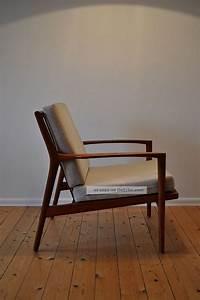 Stuhl Danish Design : 60er 60s teak easy chair sessel danish design mid century modern stuhl armchair ~ Frokenaadalensverden.com Haus und Dekorationen