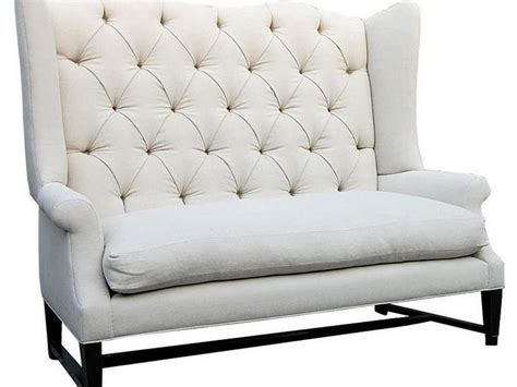 High Back Dining Settee by High Back Dining Settee Palazzodalcarlo