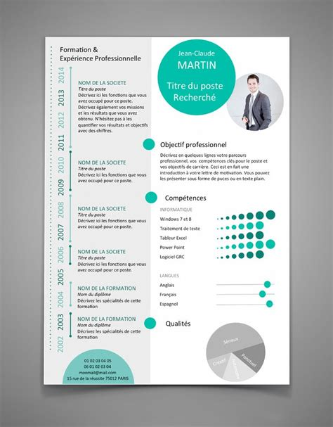 Original Resume Ideas by Les 25 Meilleures Id 233 Es De La Cat 233 Gorie Exemple Cv Sur
