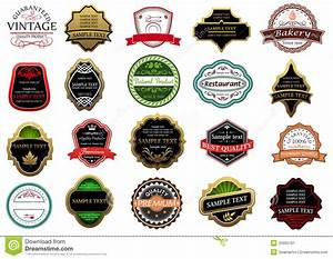 banners labels and stickers set stock image image 35655161 With create sticker labels