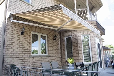 retractable patio window awnings   awnings