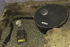 Croppped Sump Pump And Pit  2