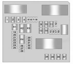 Buick Lacrosse  2011  U2013 2012   U2013 Fuse Box Diagram