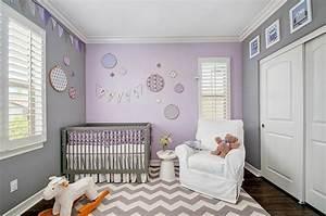 Couleur Chambre Bébé Fille : couleur chambre b b osez le violet ~ Dallasstarsshop.com Idées de Décoration
