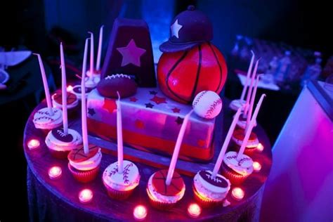 Candele Sportive by Unique Candle Lighting Ideas Sports Theme Bar Mitzvah