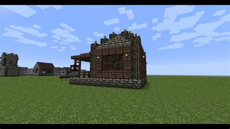 minecraft house ideas cozy cabin youtube