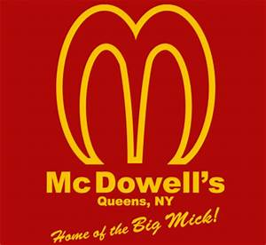 644 McDOWELLS BURGERS funny big mic coming to america ...