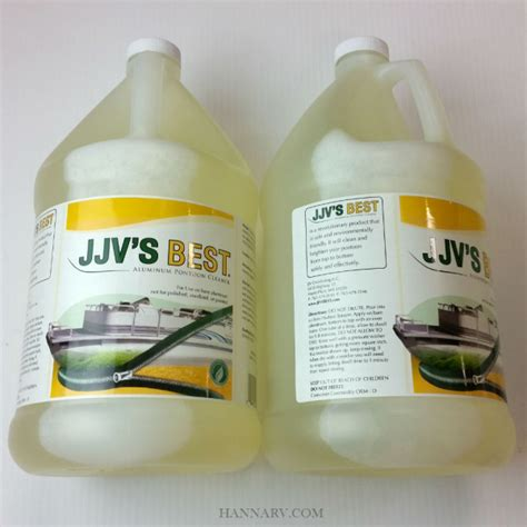 jjvs  alu  aluminum pontoon cleaner gallon  pack hanna trailer supply