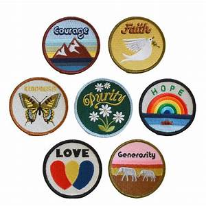Set of Virtues Patches – The Novogratz