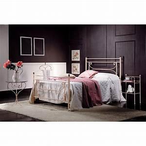 Queensize Bett Maße : bett 120x190 cm aus schmiedeeisen claudia made in italy ~ Markanthonyermac.com Haus und Dekorationen