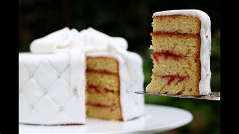 cake design ep  recette du sponge cake gateau eponge