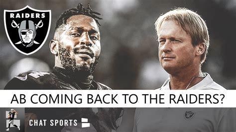 Antonio Brown Back To Raiders? Raiders Rumors: AB Talking ...