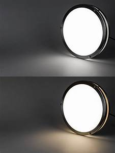 Round led flush mount ceiling light john robinson house
