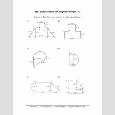 Perimeter Of Composite Figures Worksheet Galleryhipcom, Area Compound Shapes Worksheet Artgumbo