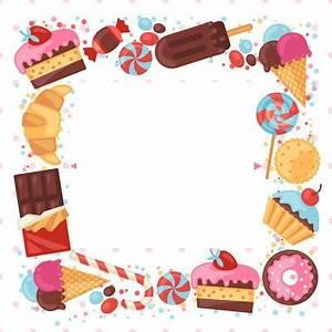 Sweets Online De : fotomontagem moldura de doces pixiz ~ Markanthonyermac.com Haus und Dekorationen