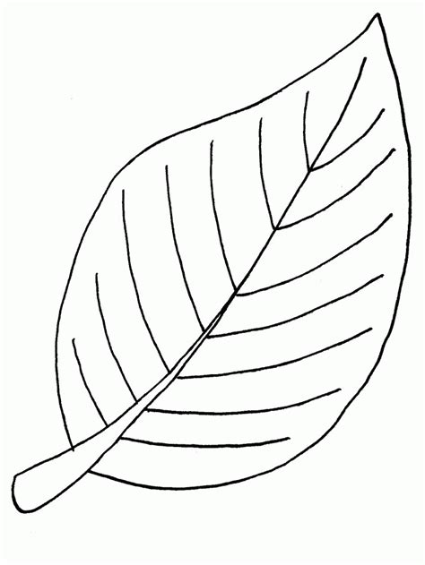 Coloring Leaves by Leaf Coloring Pages Coloringpages1001