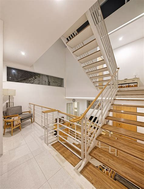 split level home interior small modern house with split level interior design idea on 6 meter wide of lot home