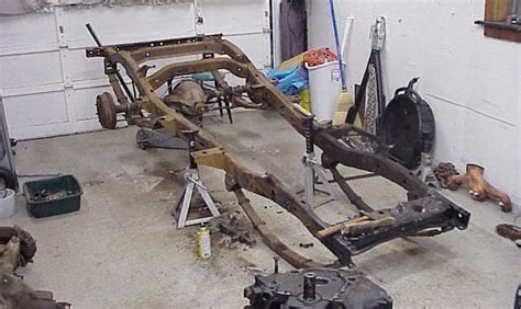 jeep cj  frame replacement por  rust proof