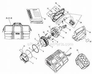 Ridgid R849 Parts List And Diagram   Ereplacementparts Com
