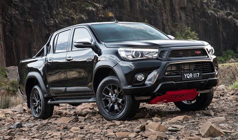 Toyota Of The Black by 2017 Toyota Hilux Trd Pack Now On Sale In Australia
